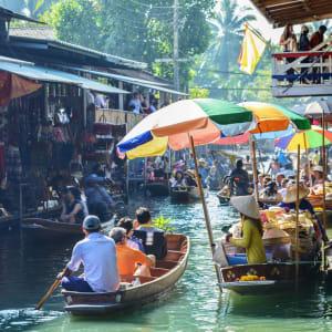 Streifzug durch Bangkoks Umgebung: Damnoen Saduak Floating Market