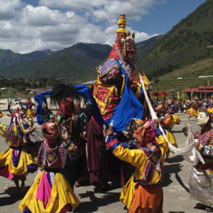 Bhutan - Land und Legenden ab Paro: Dance of the Rakshas