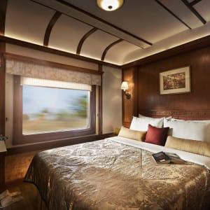 «The Deccan Odyssey» - Im Land der Könige ab Delhi: Deccan Odyssey Deluxe Cabin