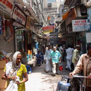 Au pied de l'Himalaya de Delhi: Delhi: Chadni Chowk