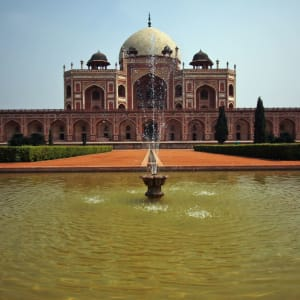 Neu-Delhi: Delhi Humayuns Tomb