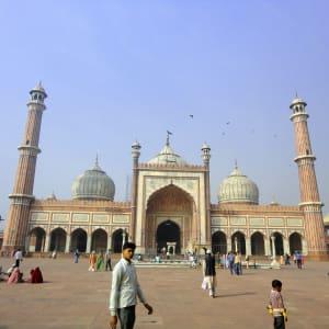Au pied de l'Himalaya de Delhi: Delhi: Jama Masjid