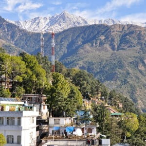 Au pied de l'Himalaya de Delhi: Dharamsala McLeod Ganj: Hometown of Dalai Lama