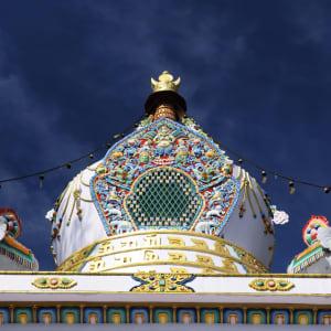 Himachal Pradesh & Ladakh ab Delhi: Dharamsala McLeod Ganj: Kalaczakra temple