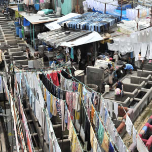 Stadttour Mumbai: Dhobi Ghat