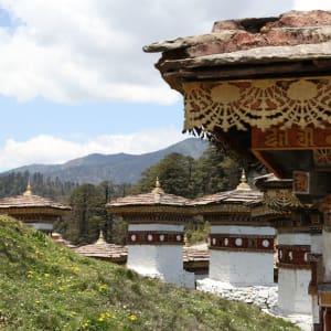 Bhutan - Land und Legenden ab Paro: Dochu Pass Chorten