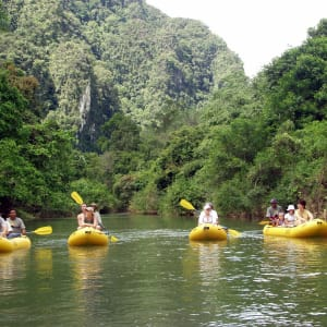 Elephant Hills & Rainforest Camp, Khao Sok Soft Adventure de Phuket: Elephant Hills Canoeing