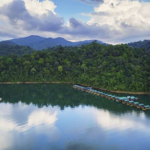 Elephant Hills - 3 Tage ab Phuket: Elephant Hills Rainforest Camp Cheow Larn Lake, Khao Sok