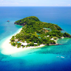 Club Paradise Palawan: aerial shot