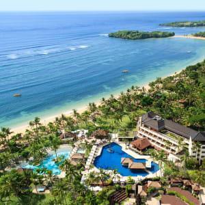 Nusa Dua Beach Hotel & Spa à Sud de Bali: Aerial view