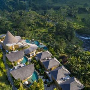 Wapa di Ume Sidemen à Ouest de Bali: Aerial view