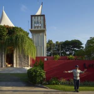 Let's Sea Hua Hin Al Fresco Resort:  arrival area