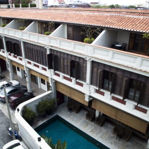 Seven Terraces in Penang:  Balconies