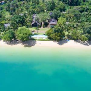 Koyao Island Resort in Ko Yao: Beach Drone