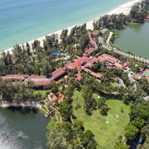 Dusit Thani Laguna in Phuket: Birdeyeview