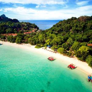 Zeavola Resort à Ko Phi Phi: Birds Eye View