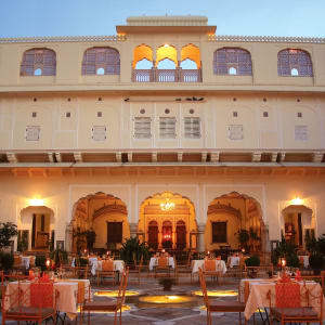 Samode Haveli in Jaipur: Courtyard