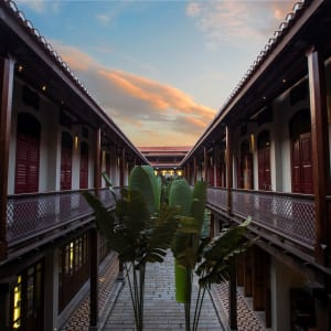 Seven Terraces in Penang:  Courtyard
