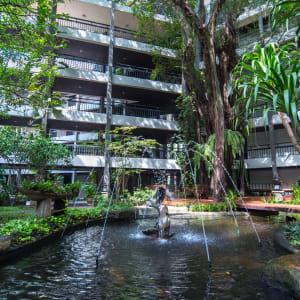 Siam Bayshore in Pattaya: Courtyard