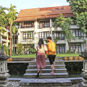 Bodhi Serene in Chiang Mai: Courtyard Area