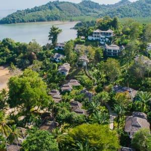 Paradise Koh Yao in Ko Yao: Drone Hotel Grounds