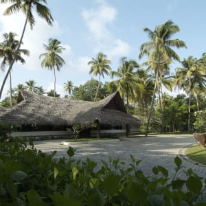 Marari Beach Resort in Mararikulam: Entrance