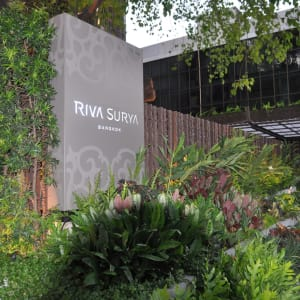 Riva Surya in Bangkok: Entrance