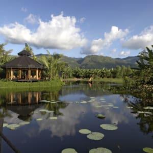 Inle Princess Resort in Inle Lake: Entrance of Spa
