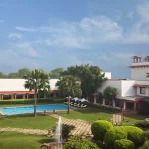 Trident à Agra: Exterior