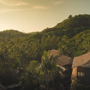 The Haad Tien Beach Resort in Ko Tao: Exterior