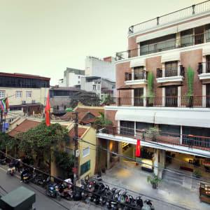 MK Premier Boutique Hotel in Hanoi:  Exterior
