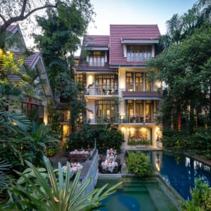 Ariyasom Villa in Bangkok: Exterior View with pool