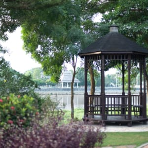 Imperial River House à Chiang Rai: Garden