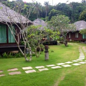 Thanya Resort in Ko Ngai: Garden