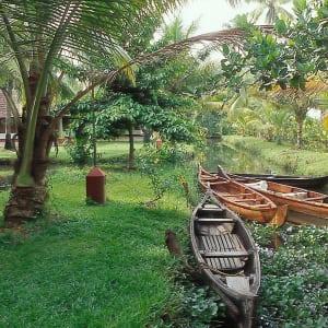 Coconut Lagoon à Kumarakom: Garden
