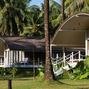 Taj Exotica Resort & Spa in Andamanen: Garden