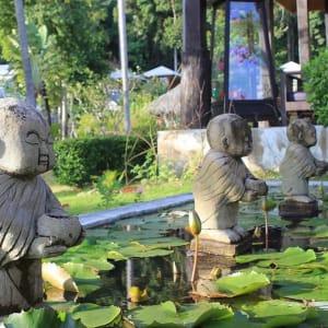 Thanya Resort in Ko Ngai: Garden Detail