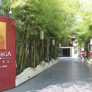 De Naga in Chiang Mai: Hotel Entrance