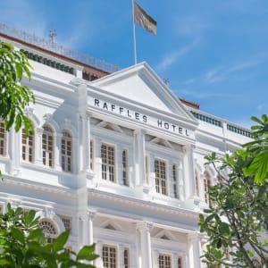 Raffles Singapore in Singapur: Hotel Facade Side