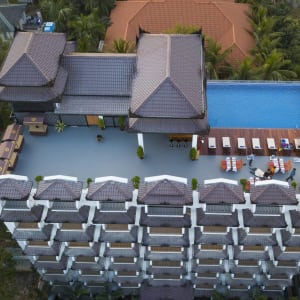 Yadanarpon Dynasty à Mandalay: Hotel from Bird`s eye view