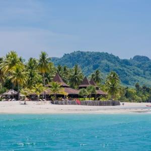 Sivalai Beach Resort in Ko Mook: Hotel from the sea view