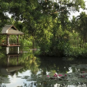 Anantara Mai Khao Phuket Villas: Lagoon view with sala