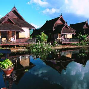 Inle Princess Resort in Inle Lake: Lake Front View