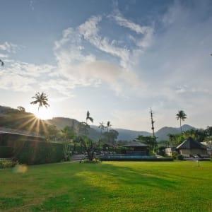 GajaPuri Resort in Ko Chang: Lanai Lawn