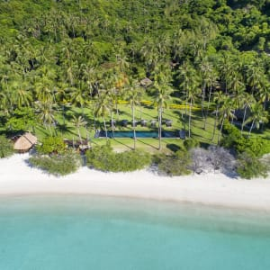 The Haad Tien Beach Resort in Ko Tao: Landscape