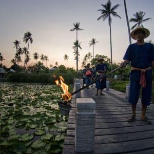 Anantara Mai Khao Phuket Villas: Lighting Ceremony