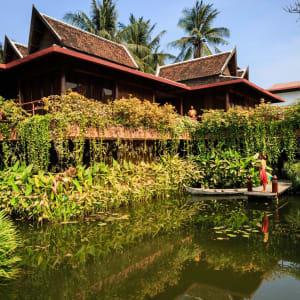 Angkor Village Hotel à Siem Reap: lotus pond