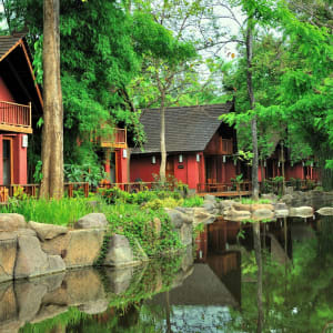 Pristine Lotus Resort à Lac Inle: Lotus Villas Front Row