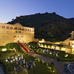 Samode Palace in Jaipur: Night Shot
