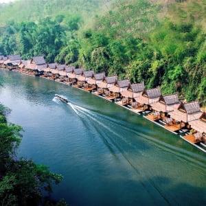 River Kwai Soft Adventure ab Bangkok: exterior: overview